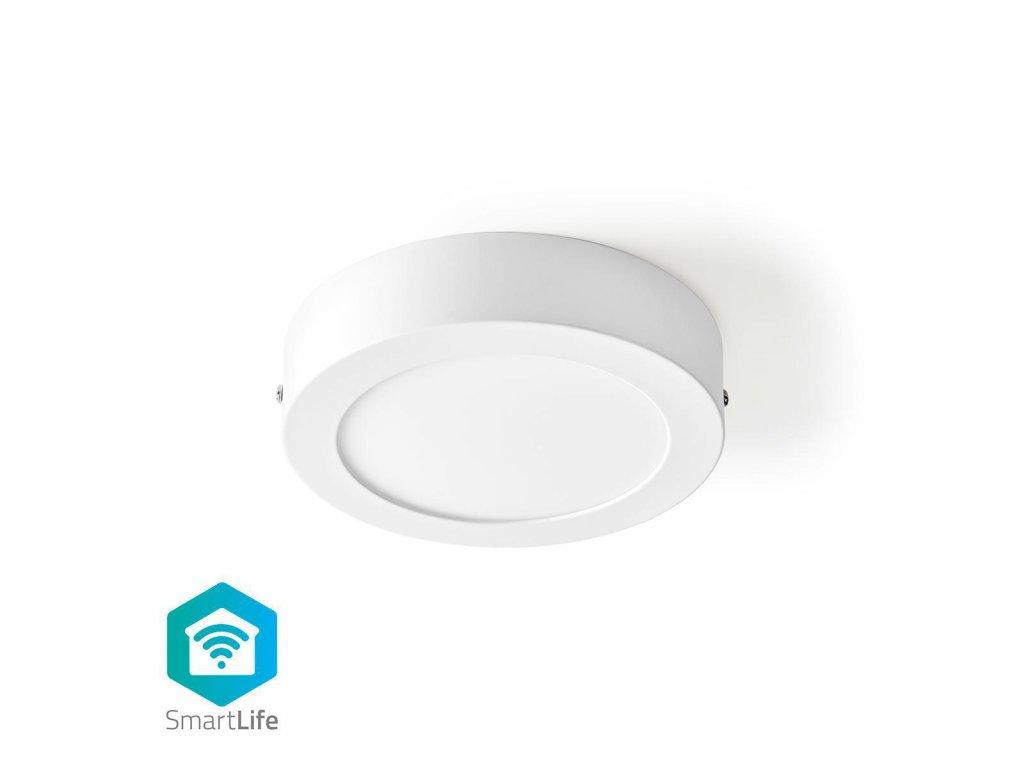 Nedis SmartLife chytré stropní LED světlo ø 17cm, 12W 800lm, teplá-studená bílá (WIFILAW10WT)