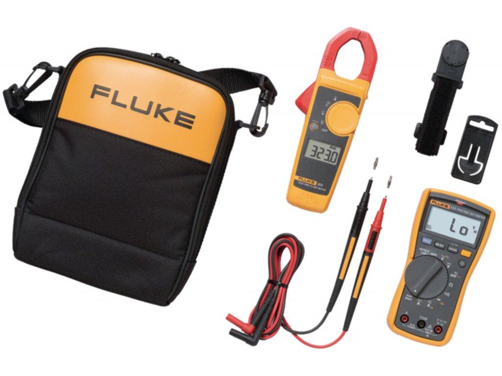 Sada měřicích přístrojů Fluke 117 + Fluke 323, 117/323