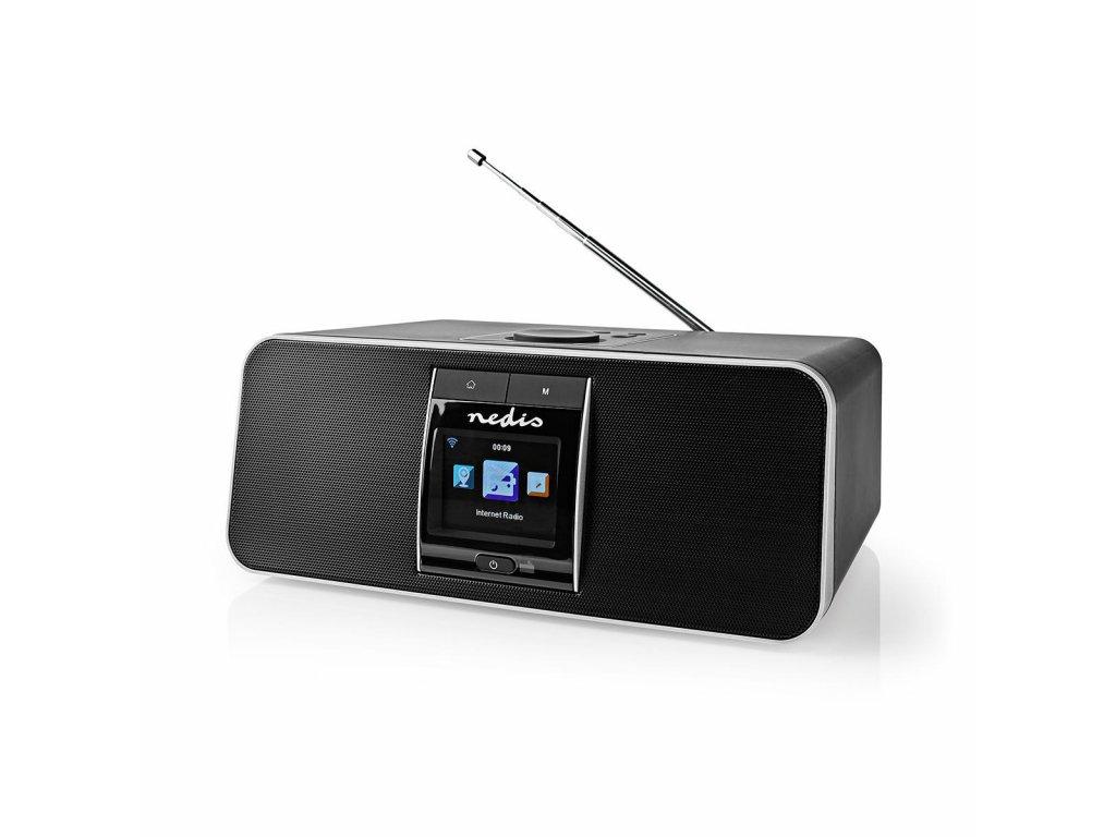 Nedis RDIN5005BK internetové rádio, 42 W, DAB+, FM, Bluetooth®, dálkový ovladač