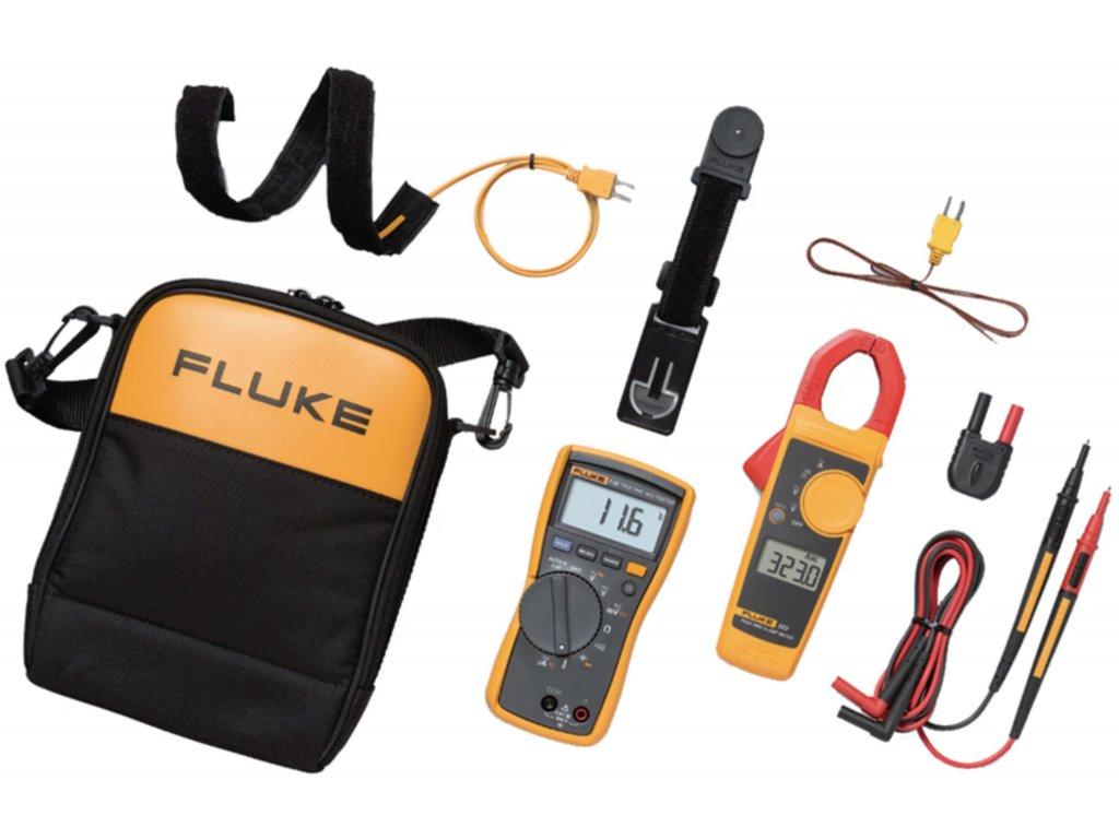 Sada měřicích přístrojů Fluke 116 + Fluke 323, 116/323