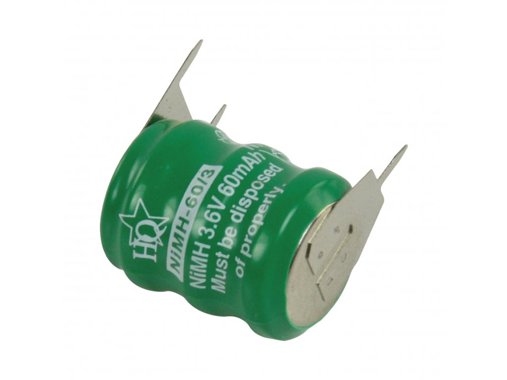 Akumulátor NiMH 3.6V/60mAh, NIMH-60/3