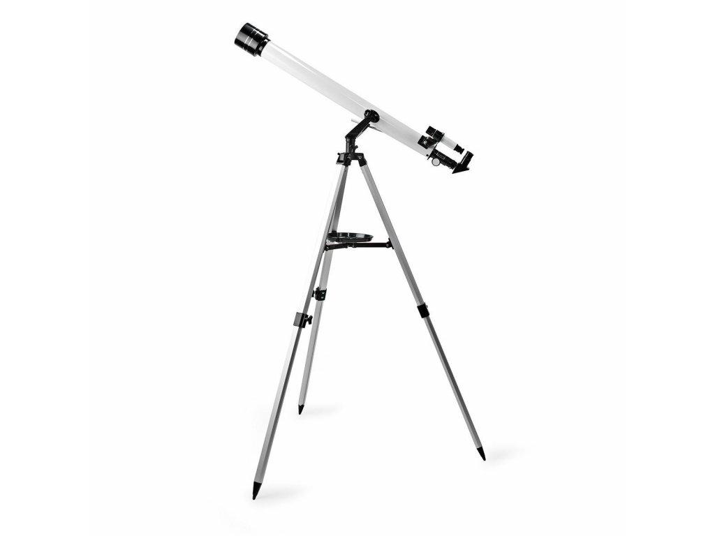 Nedis SCTE5060WT hvězdářský dalekohled 50 x 600 mm, stativ, max. výška 125 mm