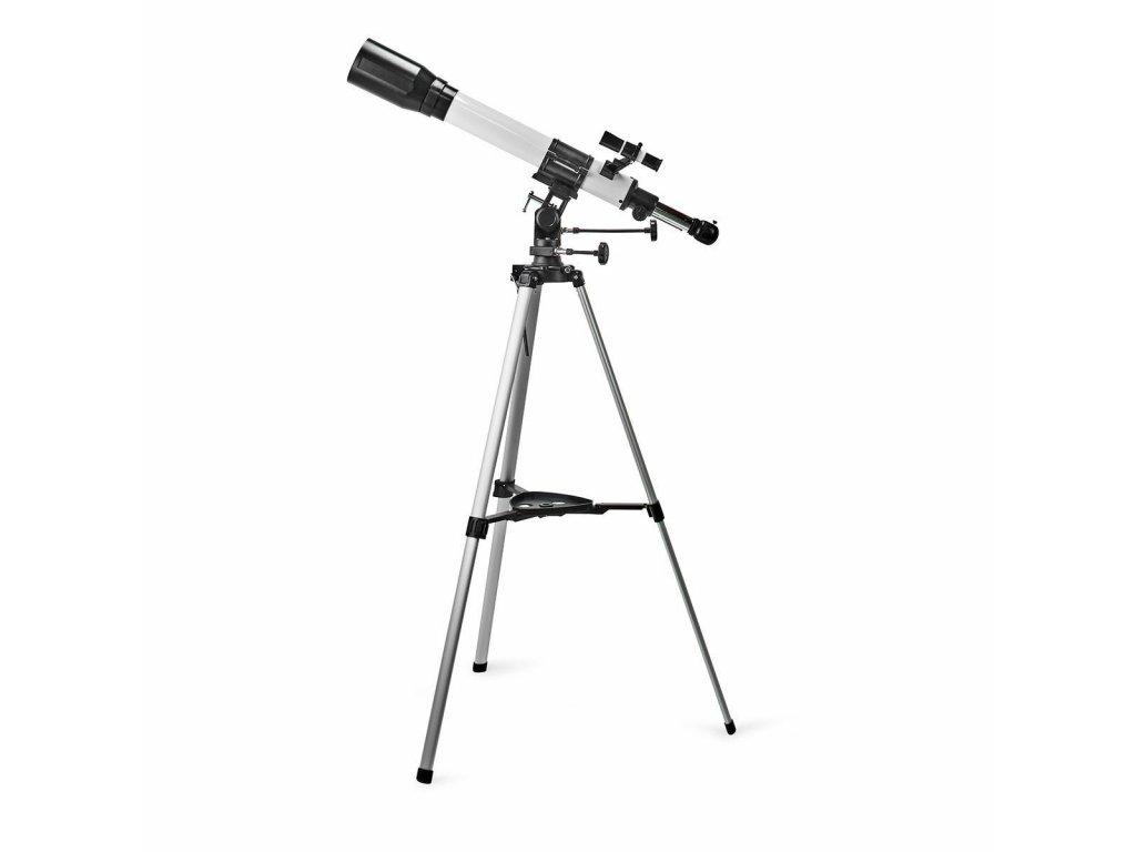 Nedis SCTE7070WT hvězdářský dalekohled 70 x 700 mm, stativ, max. výška 125 mm