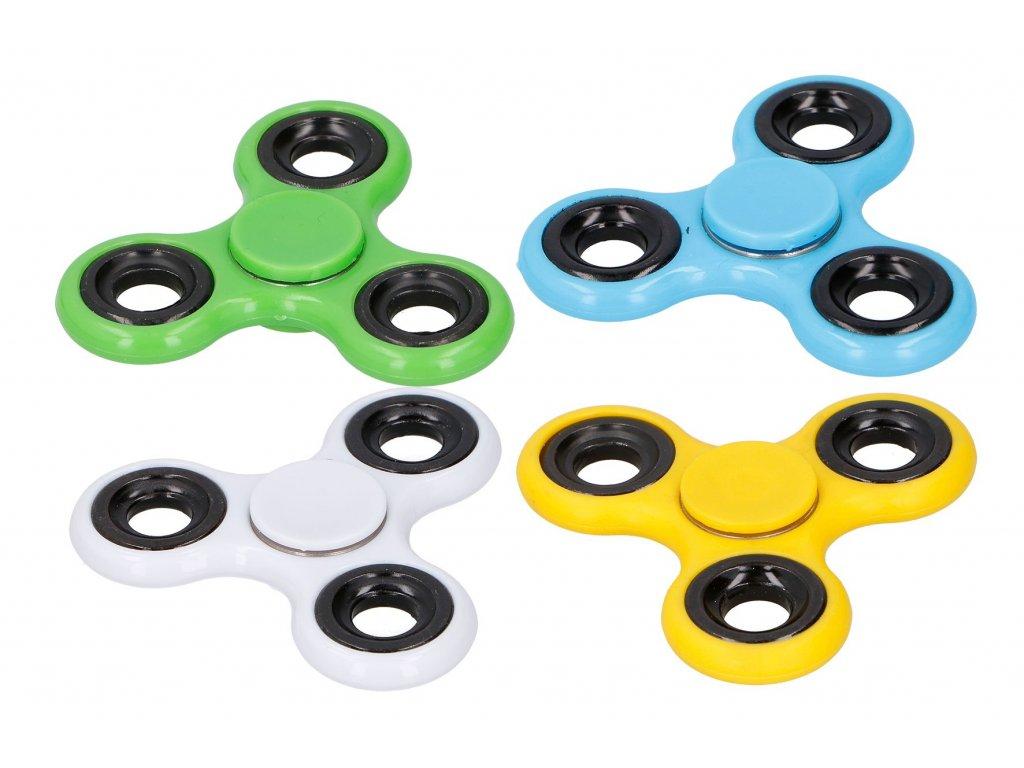 Fidget spinner 06995, 4 barevné varianty
