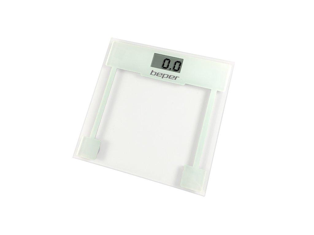 BEPER 40820 Digitální osobní skleněná dotyková váha do 150kg