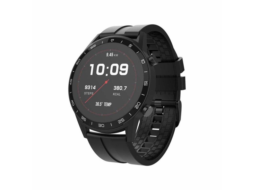 Sweex SWSW001BK chytré hodinky, 5 sportovních režimů, IP68, černé
