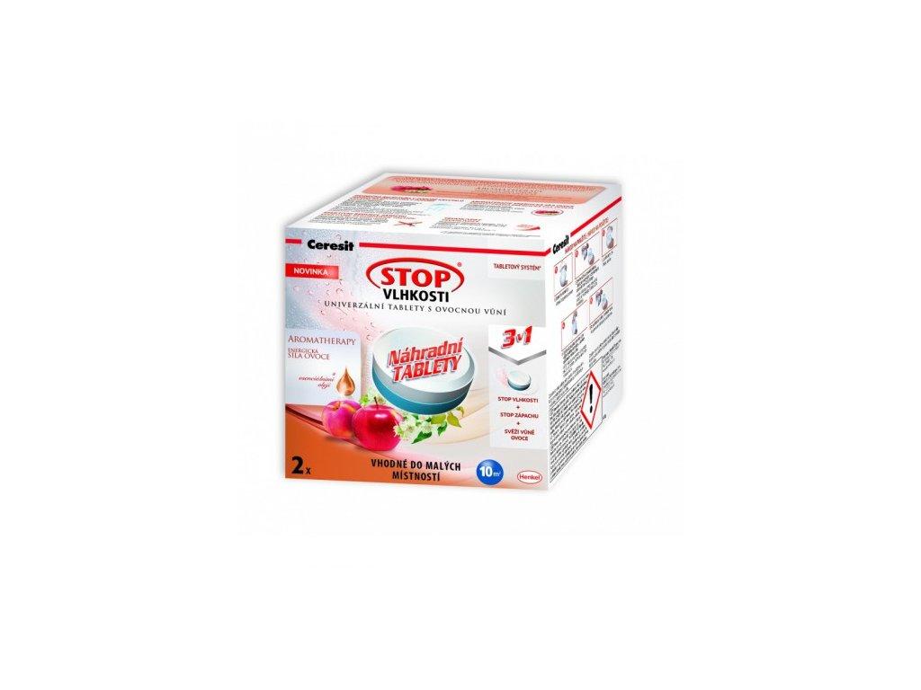 Ceresit STOP VLHKOSTI PEARL náhradní tablety 3v1 energické ovoce (2x300g)