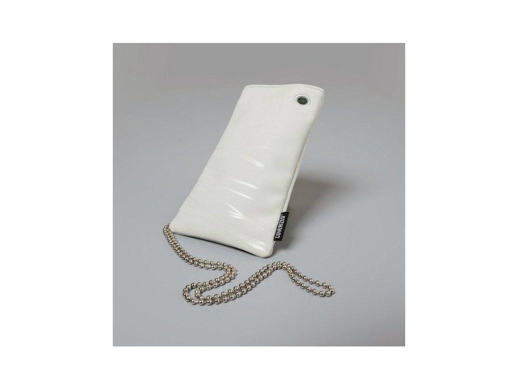 Coverized WAVE velká brašna na MP3 / PDA / mobilní telefon / digitální fotoaparát, šedá