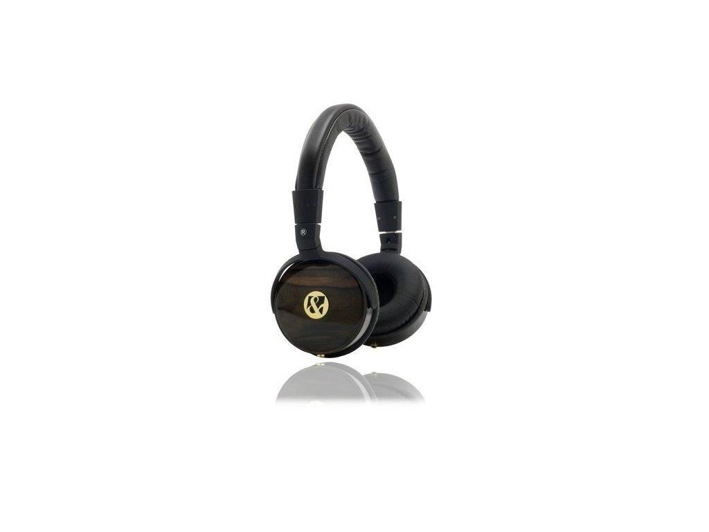 Profesionální sluchátka G&BL 6584 Ebony Wood