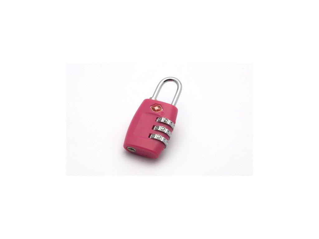 Cestovní visací zámek Travel Sentry® TR6478 růžový