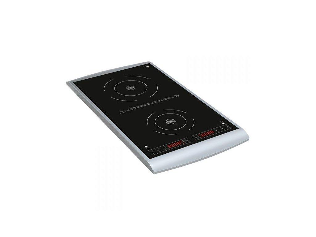 Mia IKP2210 stylový indukční dvouplotýnkový vařič (3100W)