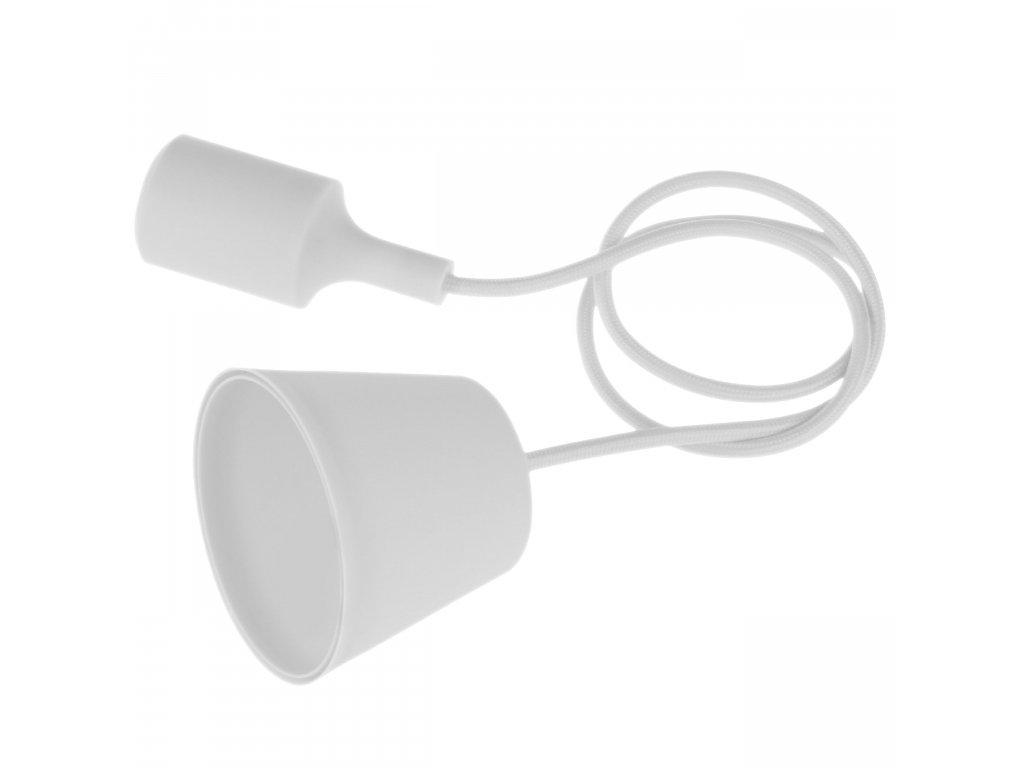 Závěsné svítidlo - lustr E27 1.5m bílé Century FTBI-150