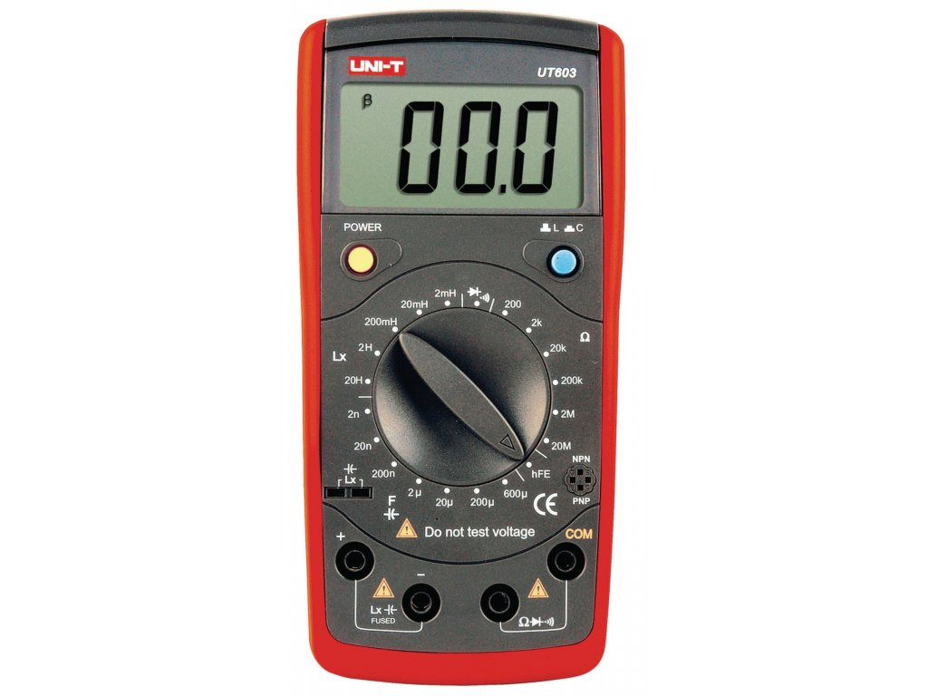 Digitální multimetr (RLC) UNI-T UT603
