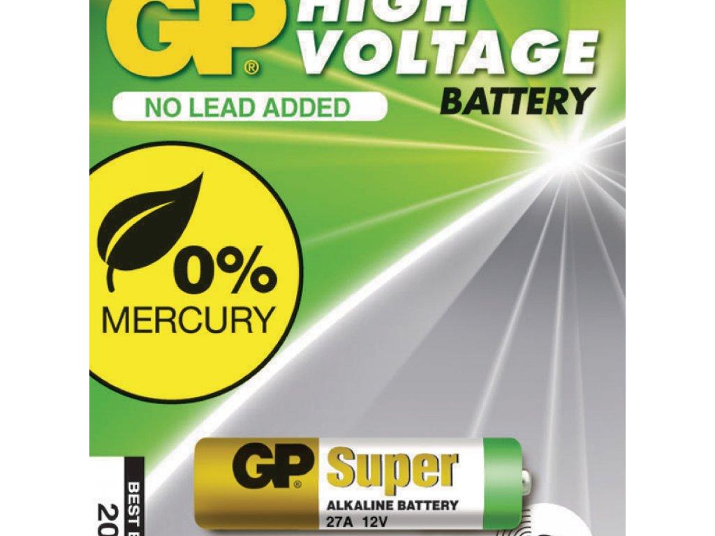 Alkalická baterie GP 27A 12 V, 1ks