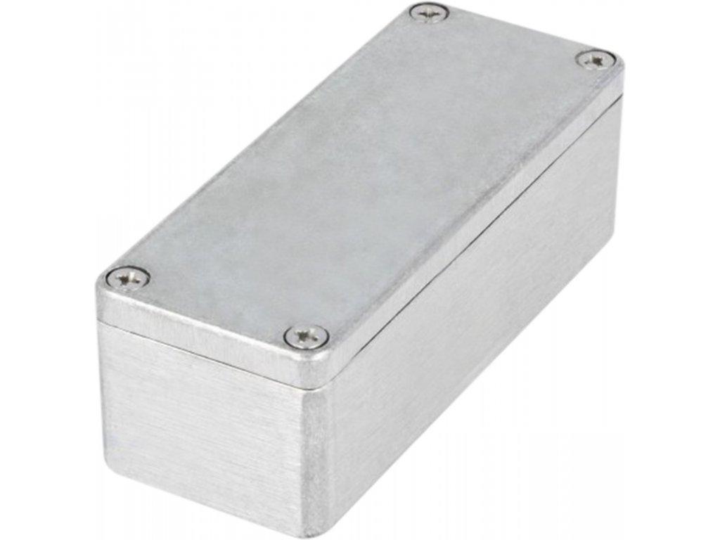 Hliníková krabička IP 65, 148 x 108 x 75 mm