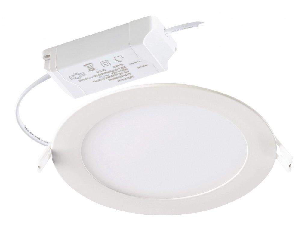 Podhledové svítidlo kulatý LED panel 25W, 3000K, 2000 lm, stmívatelné Sylvania 0053312