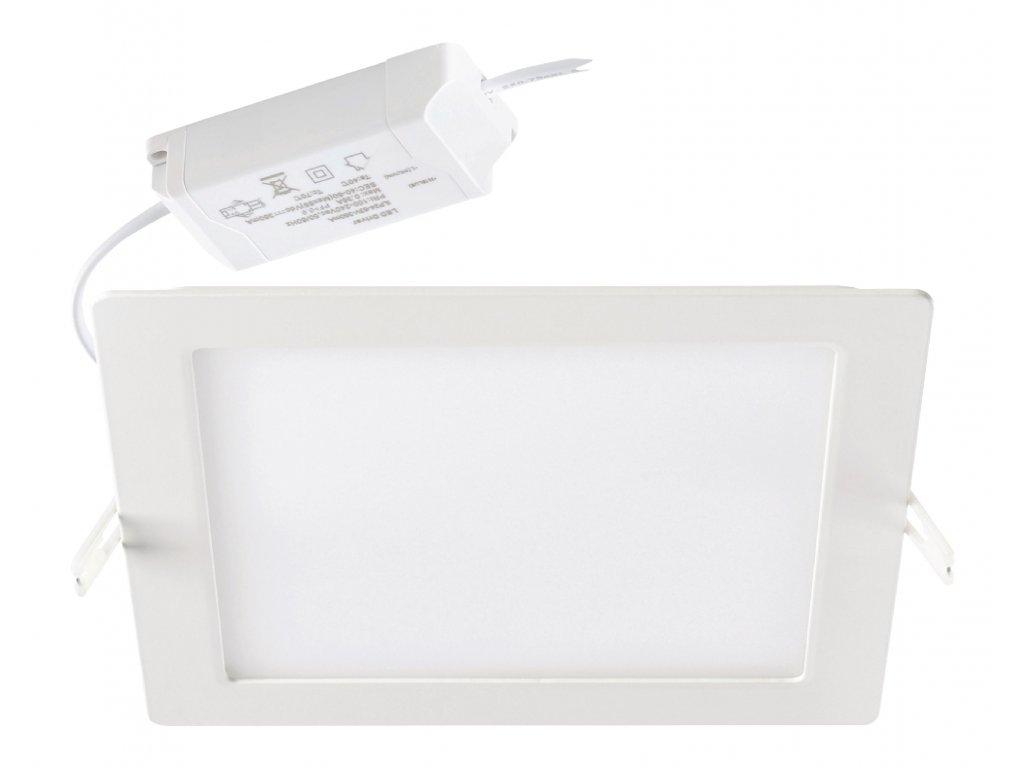 Podhledové svítidlo čtvercový LED panel 18W, 3000K, 1400lm, stmívatelné Sylvania 0053311