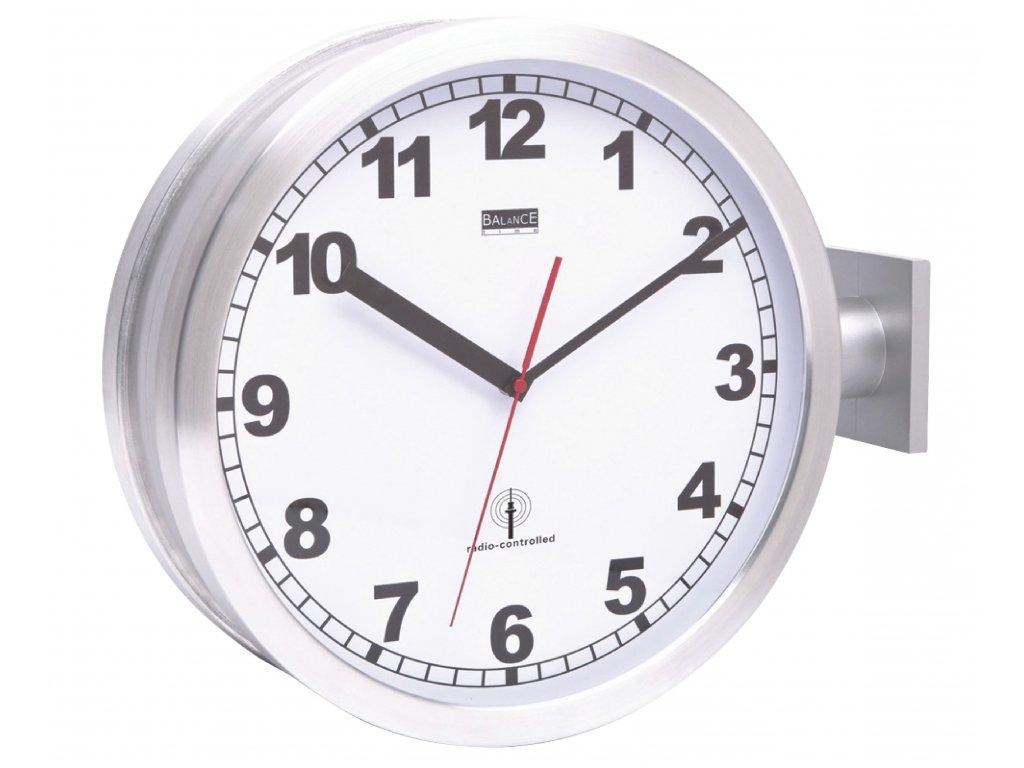 Oboustranné DCF rádiem řízené hodiny 38 cm, Balance 176447