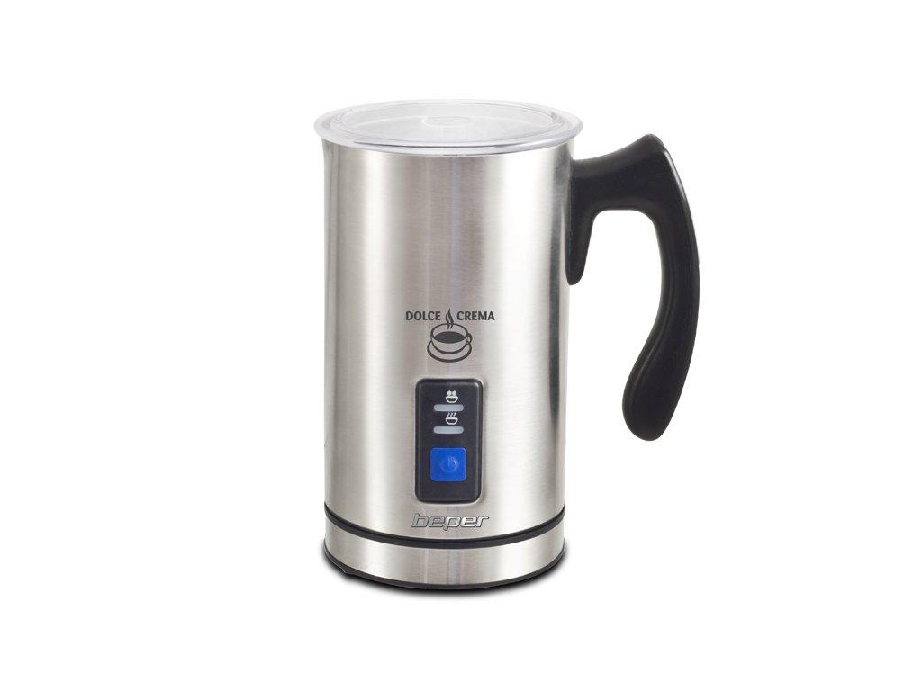 BEPER 90515 nerezový napěňovač mléka 3v1, 500W