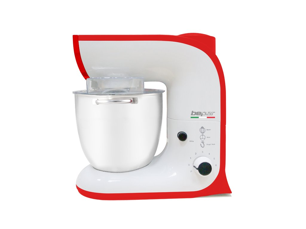 BEPER 90702-R kuchyňský robot Rosso (1200W)