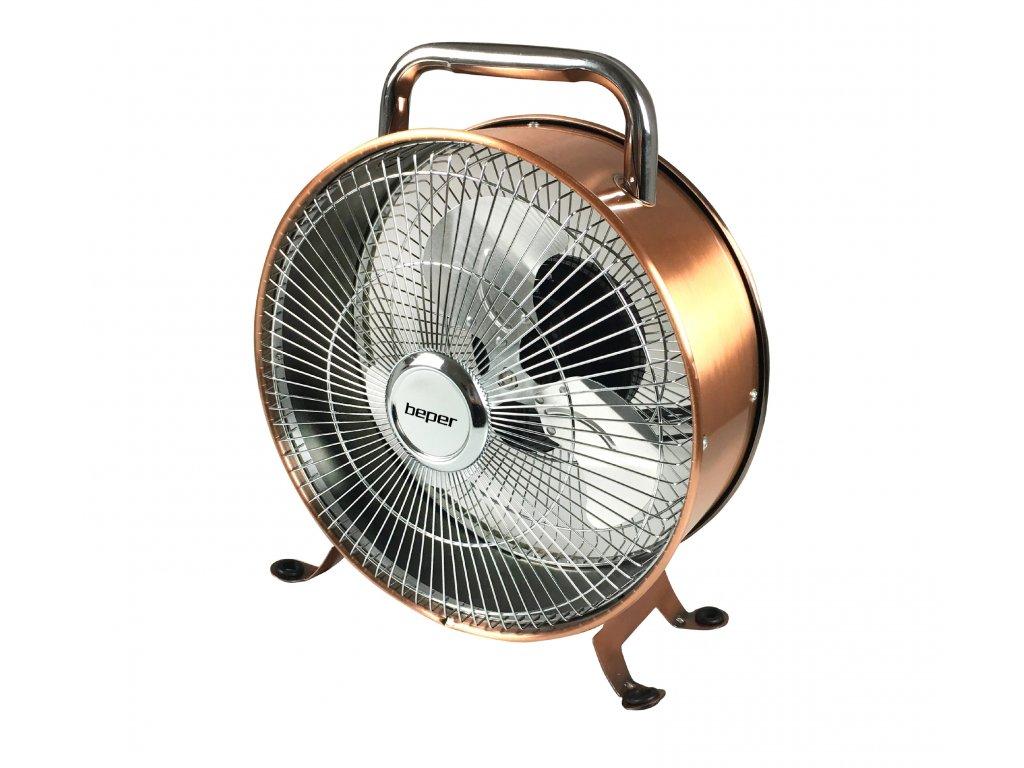 BEPER VE450 podlahový kovový ventilátor RETRO, 15W