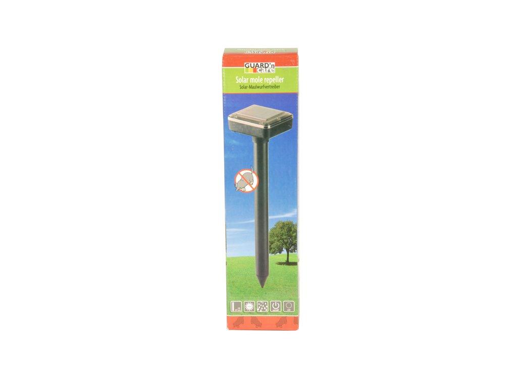 Solární zahradní odpuzovač krtků, 37cm
