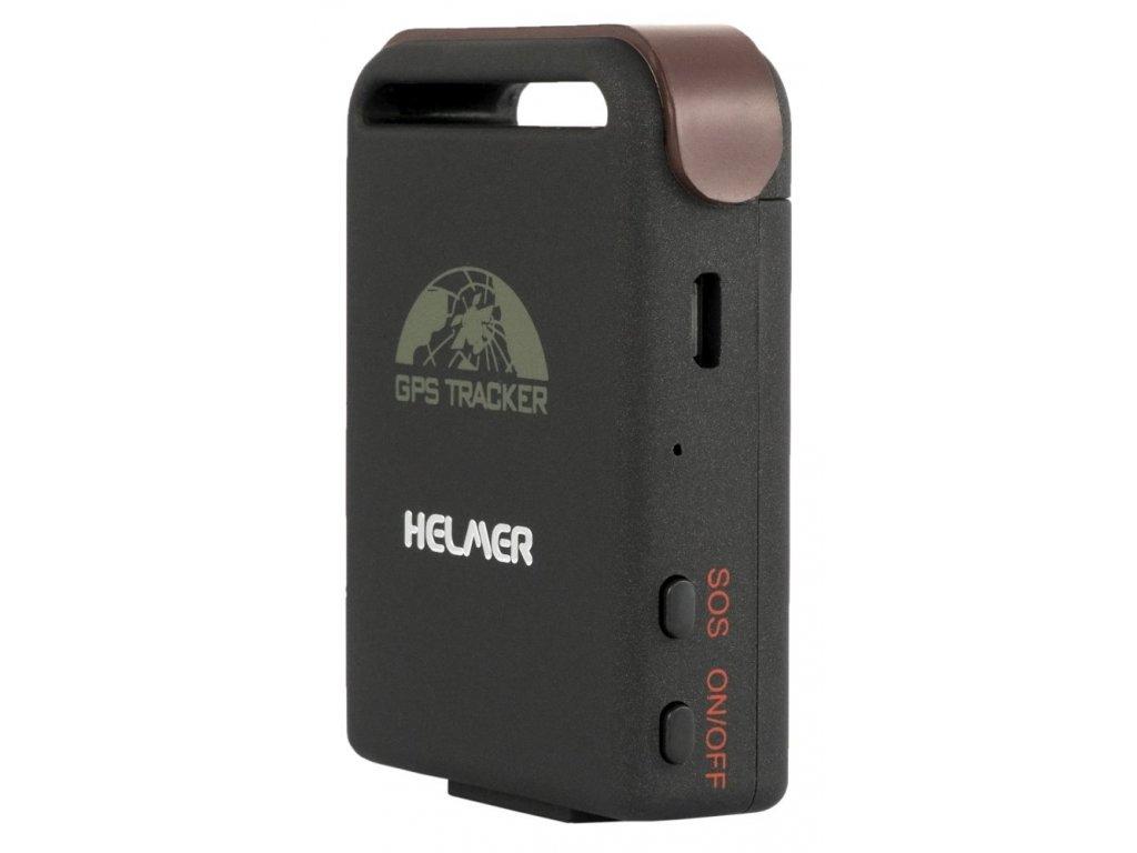 lokator karta HELMER GPS univerzální lokátor LK 505 pro kontrolu pohybu zvířat  lokator karta