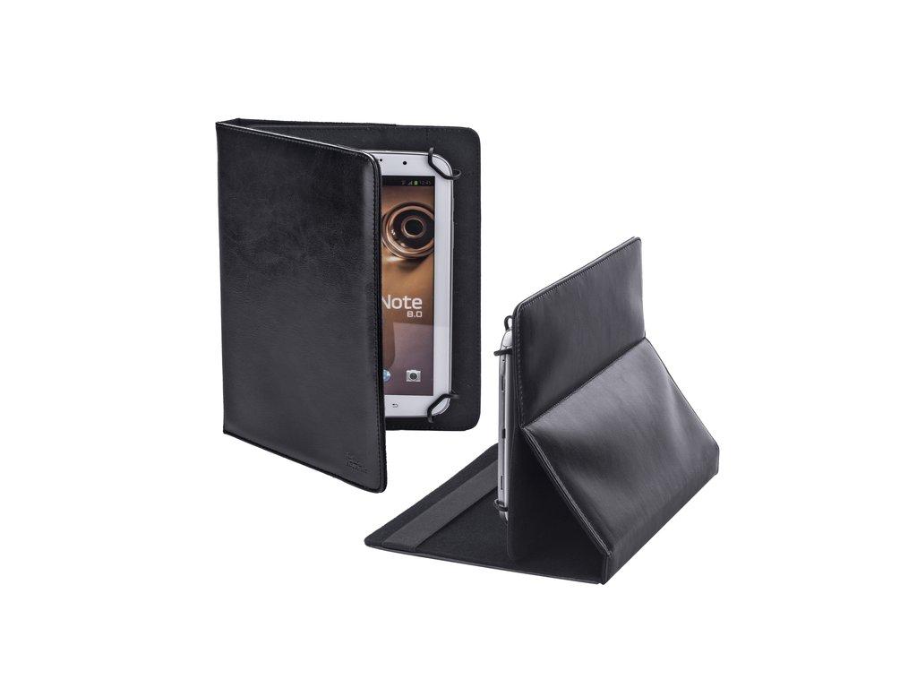 """Riva Case 3004 pouzdro na tablet 9"""" kožený vzhled, černé"""