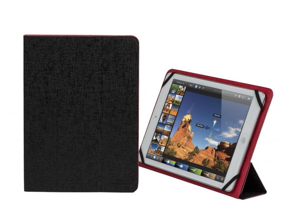 """Riva Case 3127 pouzdro na tablet 10.1"""", oboustranné, červené/černé"""