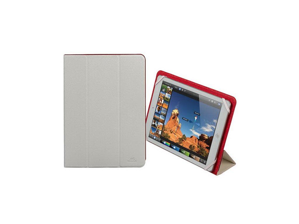 """Riva Case 3127 pouzdro na tablet 10.1"""", oboustranné, bílé/červené"""