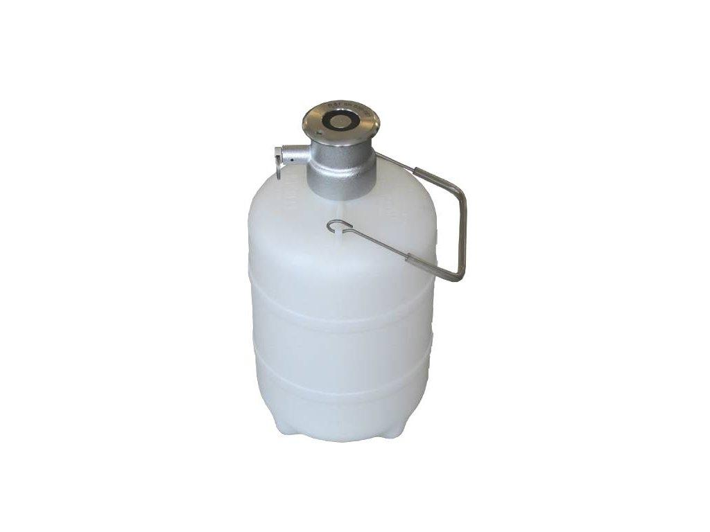 Barel sanitační plochý HPS (kovová hlava)