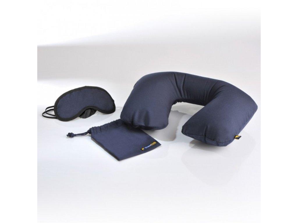 Cestovní set spací maska a krční polštářek TBU-223