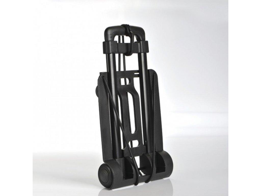 Skládací vozík s kolečky na zavazadla TBU573