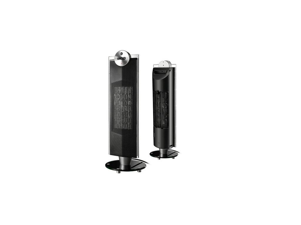 Přenosné keramické topení UNOLD 86515 TOWER s ventilátorem 1200-2000W
