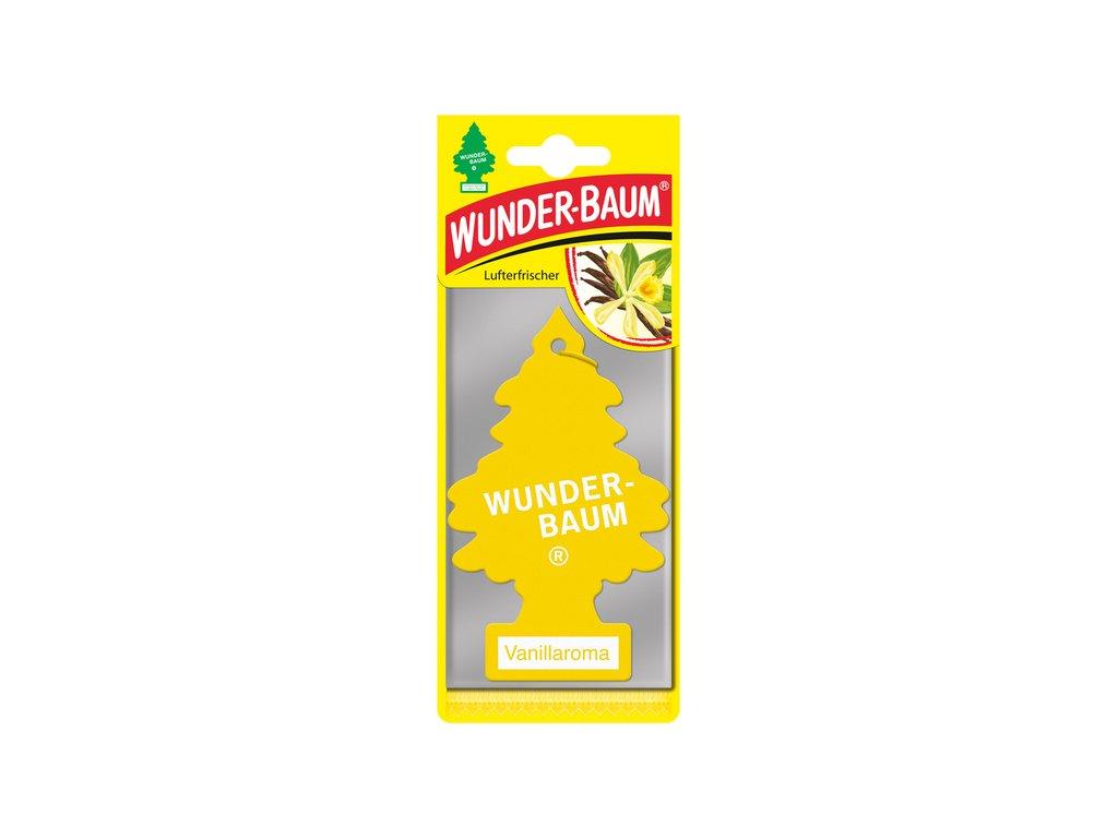 Vonný stromeček do auta Wunder-Baum aroma Vanilka