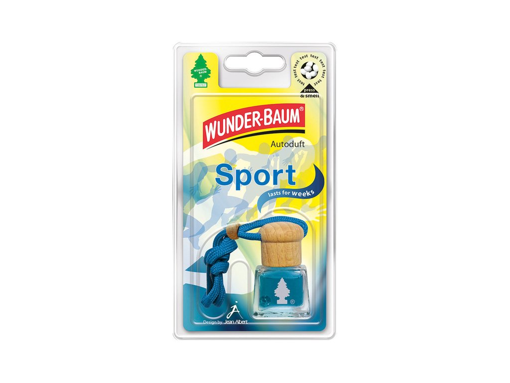 Tekutý osvěžovač Wunder-Baum Sport