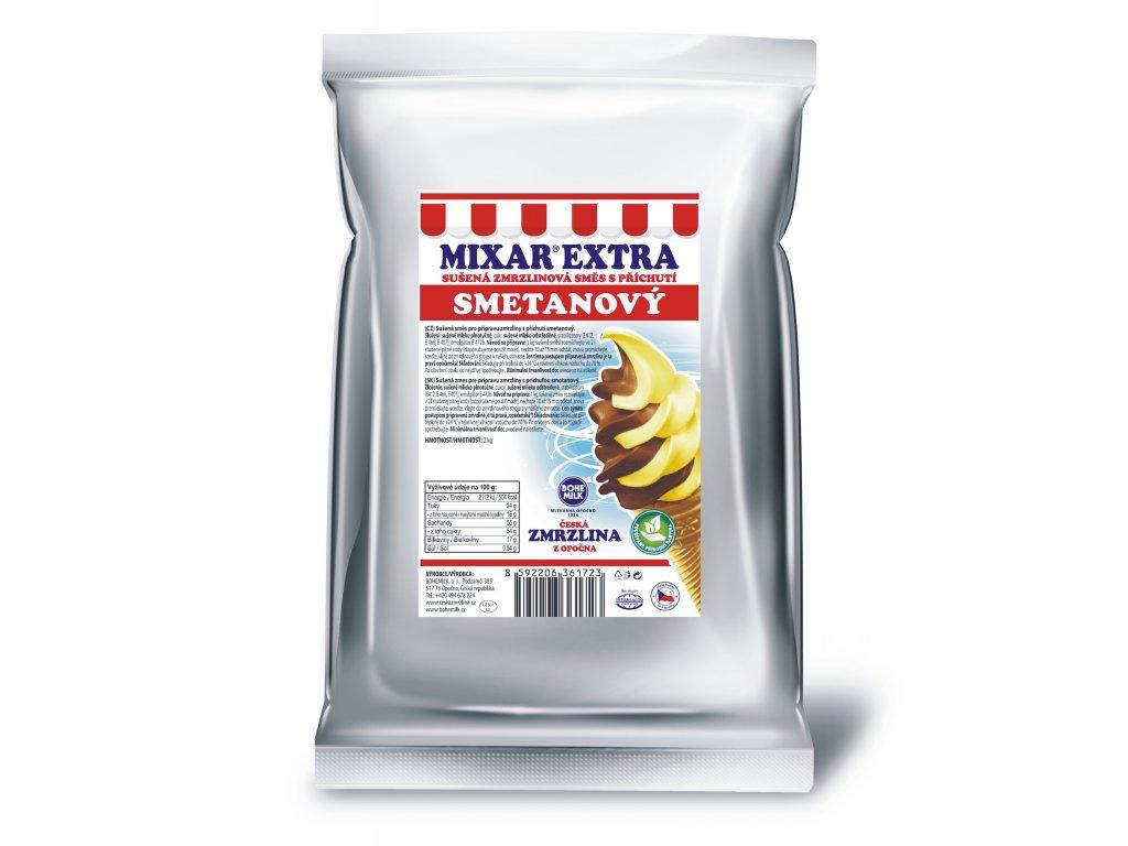 Zmrzlinová směs Bohemilk MIXAR EXTRA Smetanový základ, balení 1kg