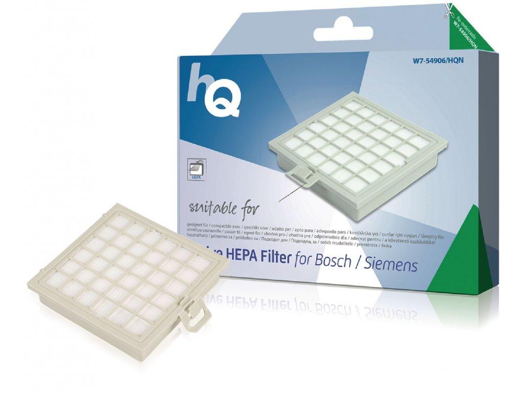 Náhradní aktivní HEPA Filtr Bosch/Siemens 483774 (W7-54906-HQ)