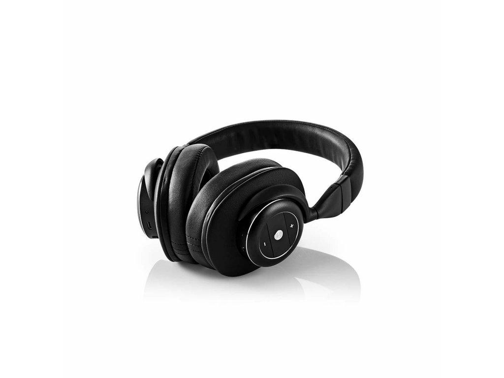 Nedis ANC Bluetooth headset, černá (HPBT5260BK)