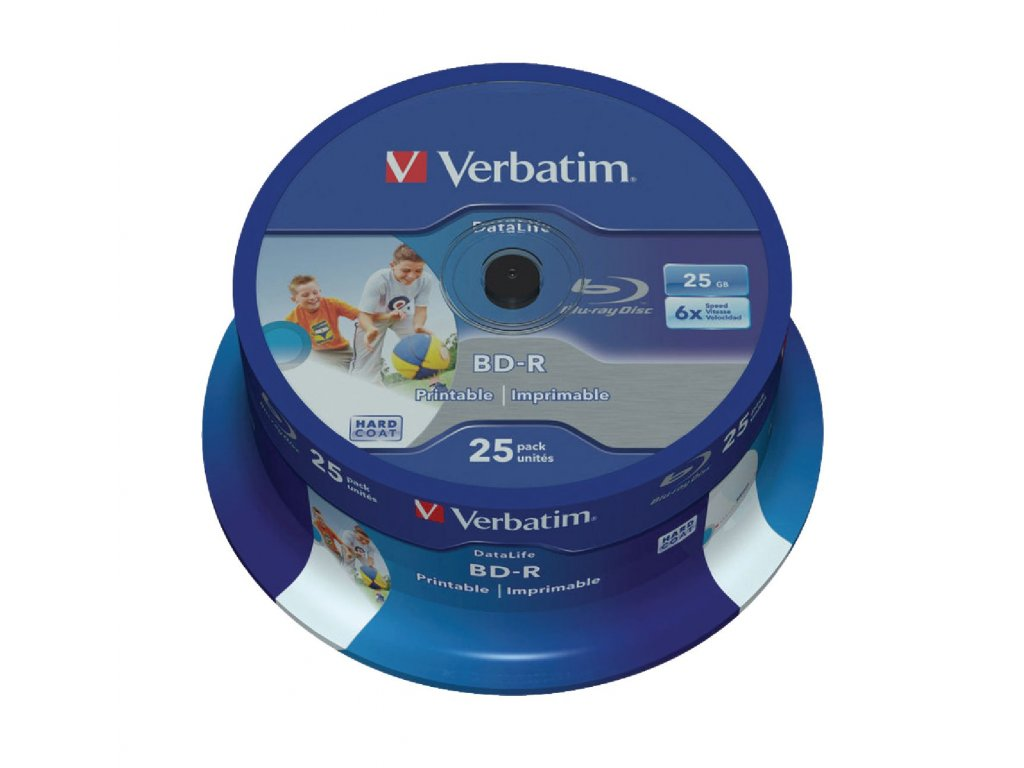 Blu-ray 25 GB 25 Kusů