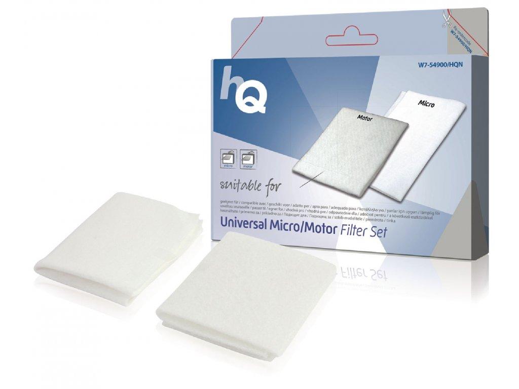 Univerzální sada mikro/motorových filtrů HQ W7-54900-HQN