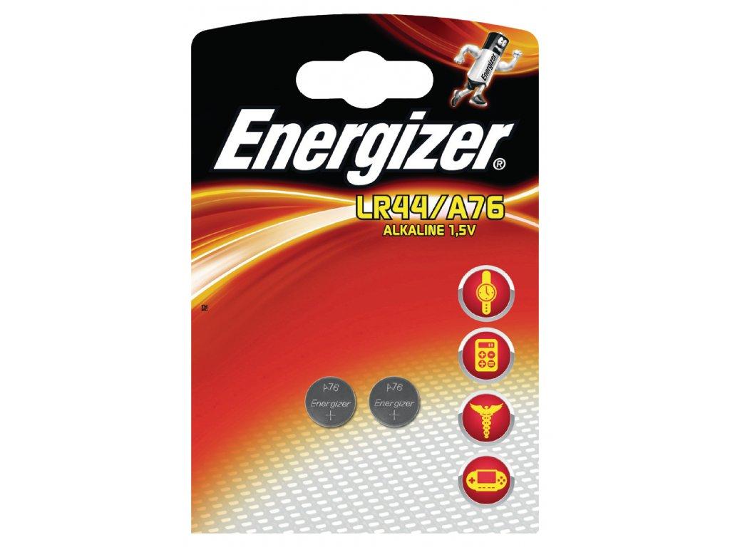 Alkalická baterie Energizer LR44 1.5 V, 2ks, EN-623055