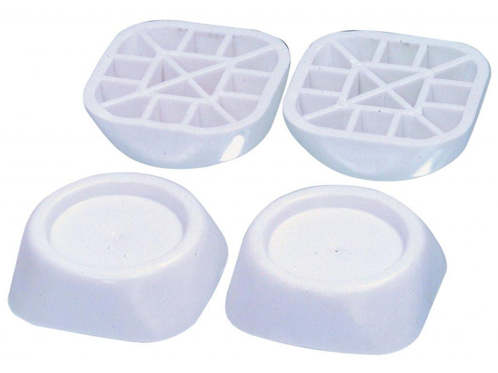 Antivibrační podložka pod pračku, sada 4 ks, W9-20532SETN