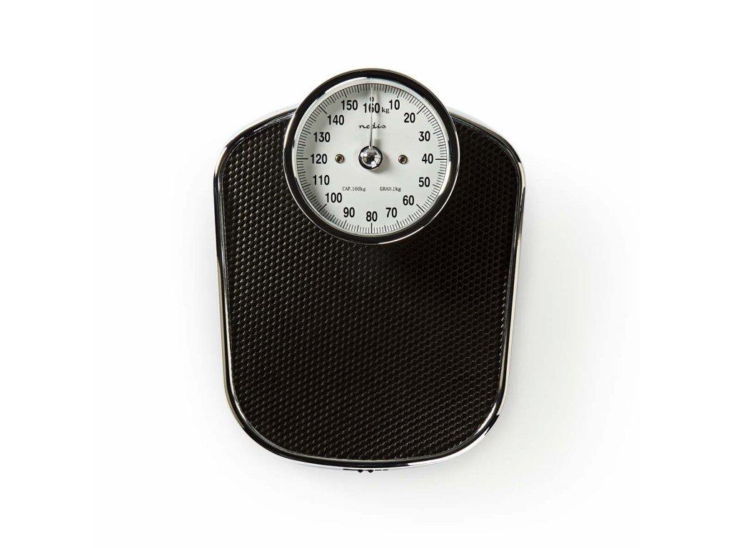 Nedis PESC110ABK analogová osobní váha do 160 kg