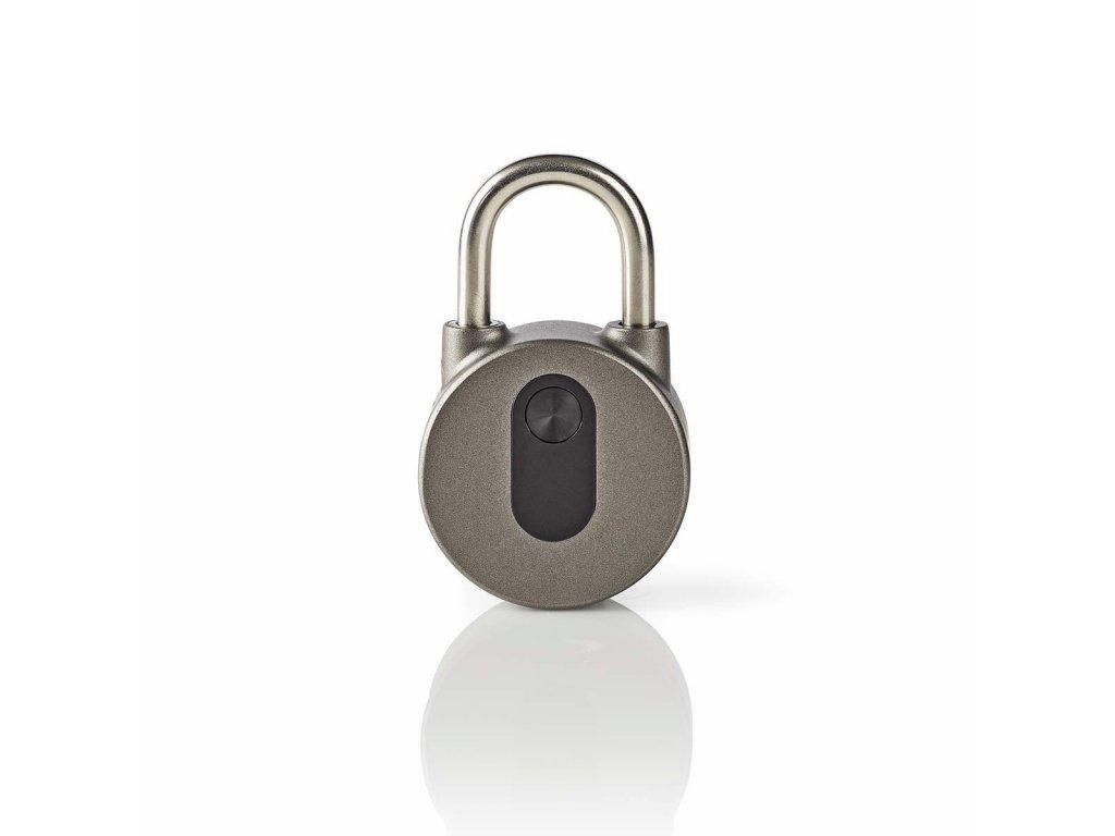 Nedis LOCKBTP10GY elektronický visací zámek s Bluetooth, bezklíčkový provoz