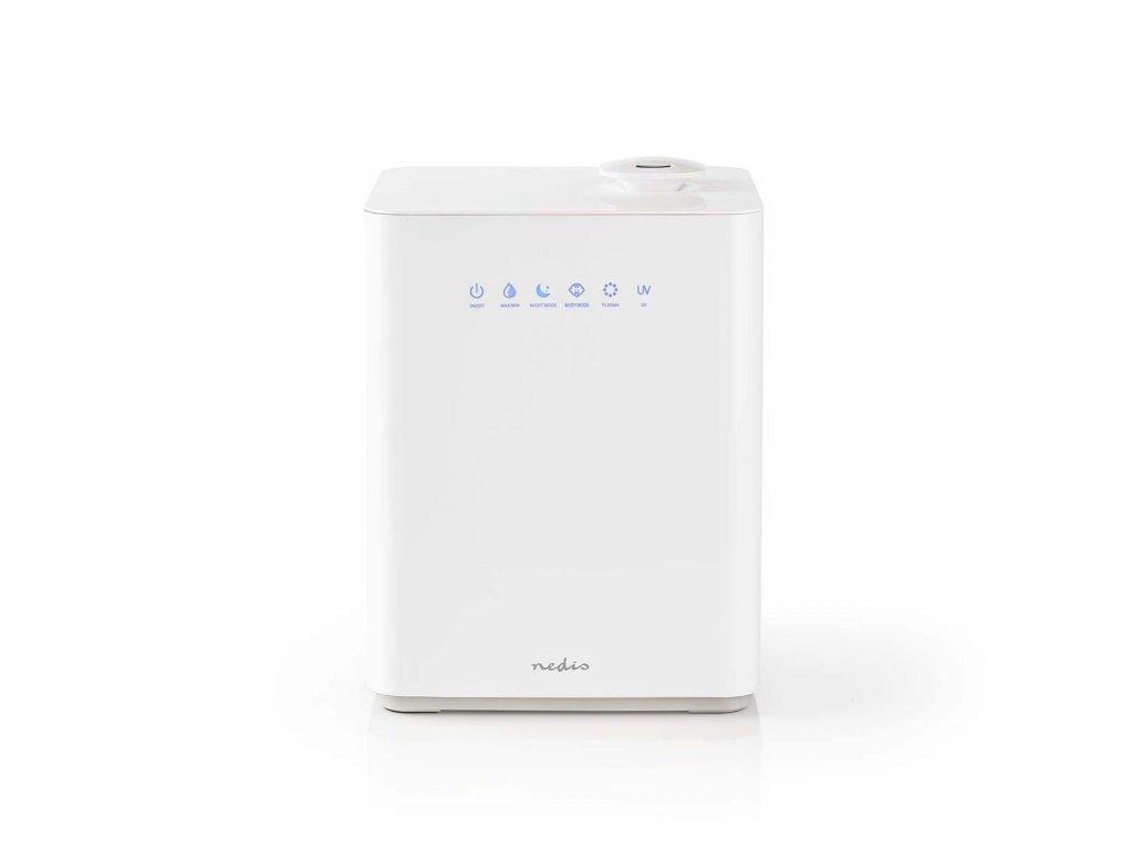 Nedis HUMI140CWT zvlhčovač vzduchu, vlhkoměr, dotykové ovládání, plazma, 5.5l