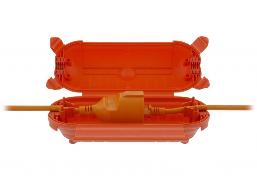 König ECBOX1 kryt spojených kabelů IP44, oranžový