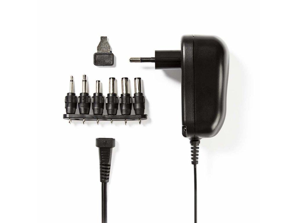 Nedis ACPA001 univerzální napájecí adaptér 3-12V, 1A