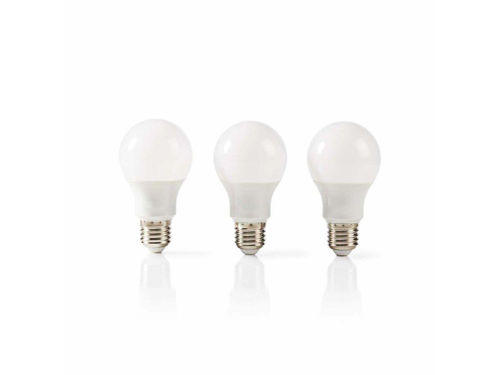 Nedis LED žárovka E27 9.4W 806lm 2700K balení 3ks (LEDBE27A603P2)