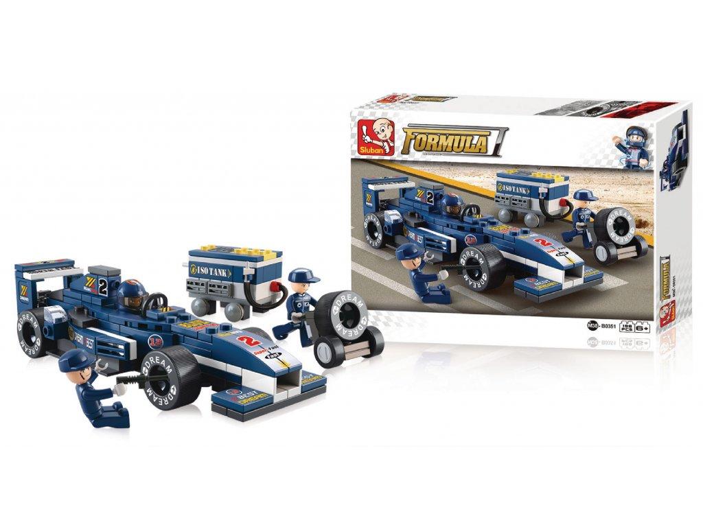 Stavebnicové Kostky Formula 1 Serie F1 Formule